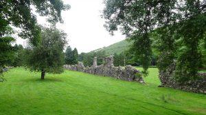 Abbey Cwm Hir ruins