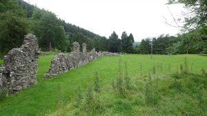 Ruins of Abbey Cwm Hir
